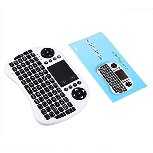 Fanboy Mini Wireless 2.4GHz Backlight Touchpad Keyboard Remote Mini Keyboard with Mouse LED Backlit for PC/Mac/Android
