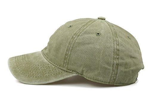 Baseball Cap Truck Hat Men Women - Classic Adjustable Plain Blank Denim Cap ...]()