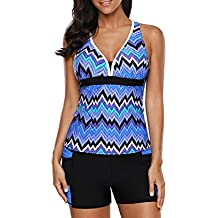 Noon-Sunshine Swimsuit Gather Low-Waist Geometric Boxer Pants Separate Swimsuit 410456