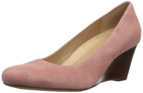 Naturalizer Women's Emily Pump, Pink, 5.5 Medium (Naturalizer Wedge Shoes)