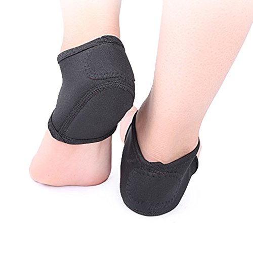 Fivtyily 1 Pair of Heel Protectors Heel Guards Relieve Plantar Fasciitis Pain Ankle Support Cushions