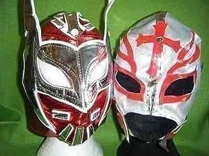 Juego de Máscaras de Lucha Libre de Luchadores Mexicanos