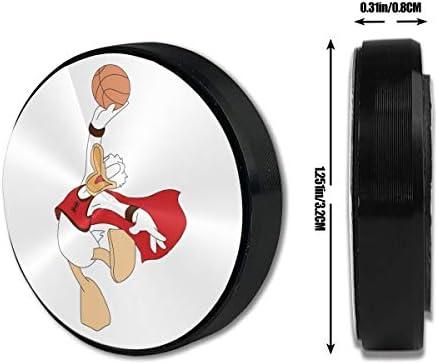 バスケットボールのドナルドダックを持っています 車載ホルダー 超強磁力 マグネット式 粘着式 取り付け簡単 高級感 おしゃれ スマホスタンド