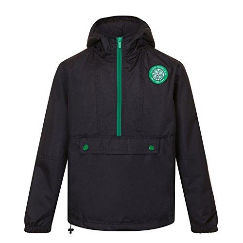 - Celtic FC Official Soccer Gift Mens Half Zip Shower Jacket Windbreaker XL