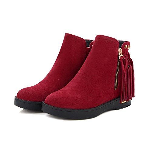 Zapatos AdeeSu cerrados Para mujer Rojo dTTarwzn