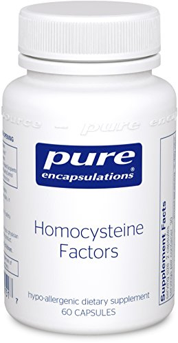 Pure Encapsulations Homocysteine Hypoallergenic Cardiovascular