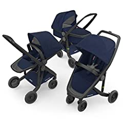 Easy as 1-2-3! The greenest stroller on planet earth grows up with your newborn all the way to pre-school. The same frame suits the Carrycot, Reversible and Classic position. When the petit passenger is ready for it, you'll just adjust the se...