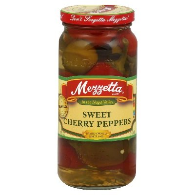 G L Mezzetta Peppers, Swt Cherry, 16-Ounce (Pack of 6)