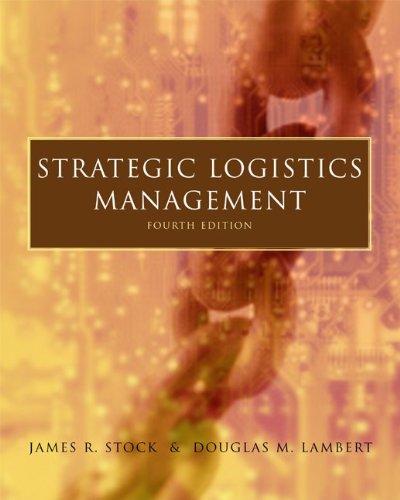 Strategic Logistics Management