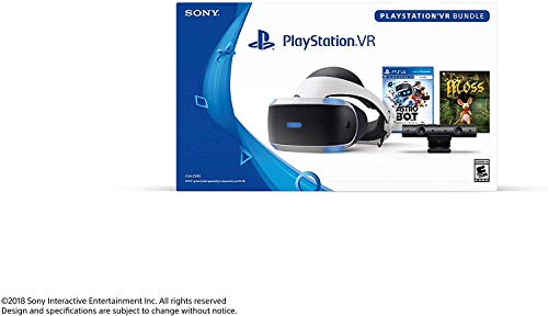 Playstation VR - Astro BOT Rescue Mission + Moss Super Bundle: Playstation VR Headset, Playstation Camera, Demo Disc 2.0, Astro BOT Rescue Mission + Moss Game 3