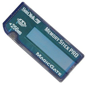 SanDisk 256MB Memory Stick Pro Card