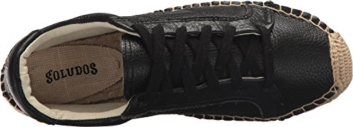 Soludos Womens Platform Tennis Sneaker Black wide range of cheap price recommend sale online pay with paypal cheap sale get authentic discount official site J00wfH5