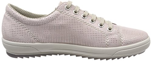 Rieker Women's M6012 Low-Top Sneakers Red (Rose) discount professional official for sale free shipping deals UHuAAJ