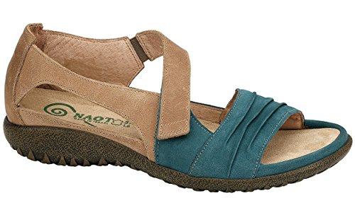 Teal Leather Brown Footwear Papaki Latte Naot Women's Nubuck taqwwB