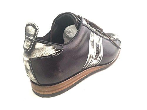 Harris - Zapatos de cordones de Piel para hombre marrón CENERE E MORO