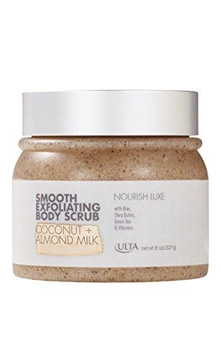 Ulta Smooth Exfoliating Body Scrub ~ 8 oz ~ Coconut + Almond Milk ()