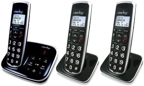 Clarity Cordless Bluetooth Phone BT914 Amplified W// Answering Machine