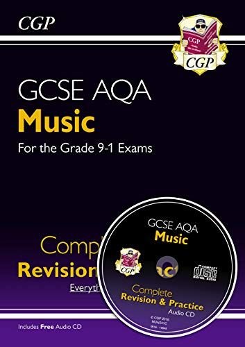 New GCSE Music AQA Complete Revision & Practice (with Audio CD) - For the Grade 9-1 Course (Cgp Gcse Music Complete Revision And Practice)