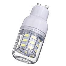 Corn Bulb - SODIAL(R) GU10 Corn Bulb High Power LED 5730 SMD Light Lamp Energy Saving Color:Pure White Pack of:1 Pcs