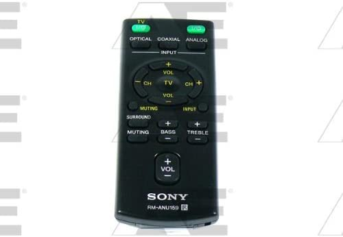 SONY OEM Original Part 1-490-541-13 RM-ANU159 Home Theater Soundbar Remote Control