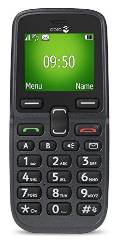 Doro 5030 GSM Mobiltelefon graphit
