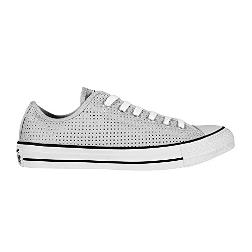 Converse Damen Sneakers Chuck Taylor All Star C551623, Zapatillas para Mujer Hellgrau (Mouse/ White/Black)
