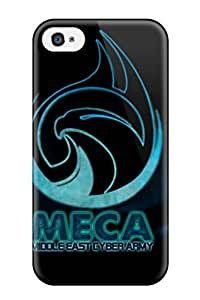 Awesome Meca Team Flip Case With Fashion Design For Iphone 4/4s