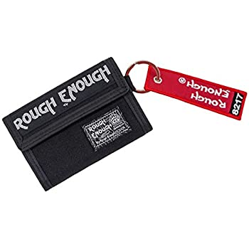 Amazon.com: Rough Enough - Monedero de lona con doble ...