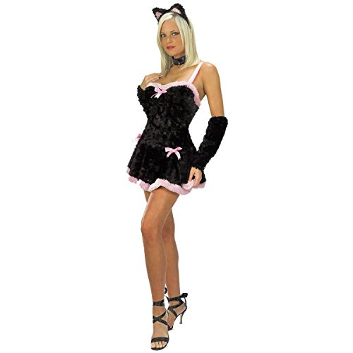 Kiss Me Kitty Costume - Small/Medium - Dress Size 2-8 (Kiss Me Kitty Costume)
