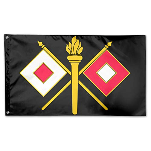 US Army Signal Corps Logo Home Flags 3 X 5 in Indoor&Outdoor Decorative Home Fall Flags Holiday Decor