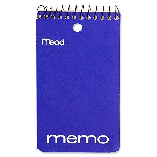 Mead Wirebound Memo Book,College Ruled,1-HP,Top Wirebound,5