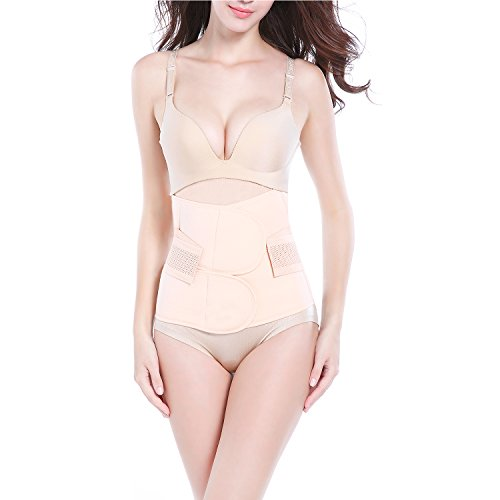 AMILE Postpartum Support Breathable Elastic Postpartum Recovery Belly Waist...