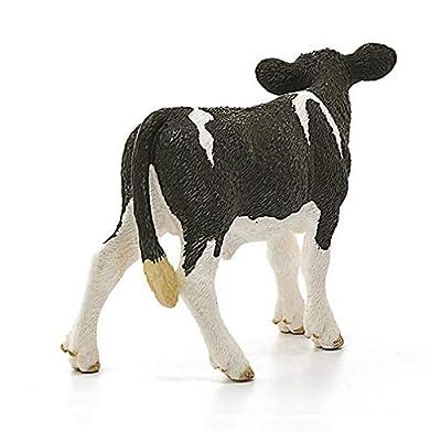 Schleich Farm World Holstein Calf Educational Figurine for Kids Ages 3-8: Schleich: Toys & Games