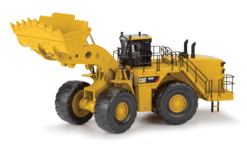 (Norscot Cat 993K Wheel Loader (1:50 Scale), Caterpillar Yellow)