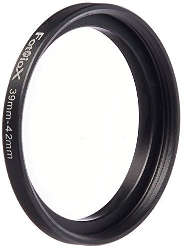 Fotodiox Metal Step Up Ring Filter Adapter, Anodized Black A