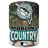 WinCraft Florida Marlins Country Wood Sign
