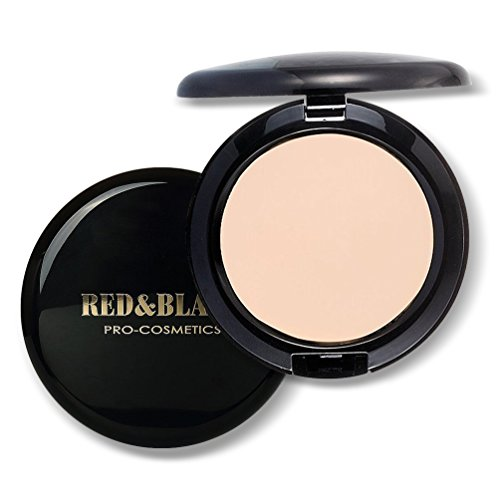 Full Coverage Cream Compact Foundation Waterproof Radiant Smooth Cream Foundation for Women Face Foundation Makeup, Oil-control and Long Wearing,2.10Oz (Warm Natural)