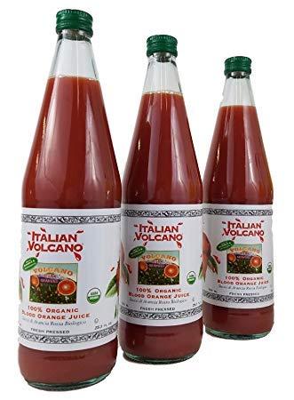 Italian Volcano Blood Orange Juice (Three 750 ml -