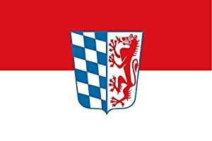 magFlags Large Flag Lower Bavaria Germany | landscape flag | 1.35m² | 14.5sqft | 90x150cm | 3x5ft - 100% Made in Germany - long lasting outdoor flag
