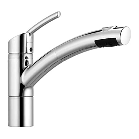 Kludi Trendo 339810575 Single Lever Sink Tap With Sprinkler Chrome