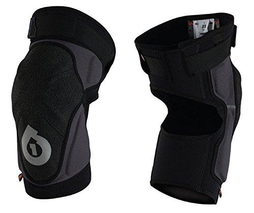 Sixsixone Body Armor (SixSixOne Unisex-Adult Evo Knee Guard II (Black, Medium))