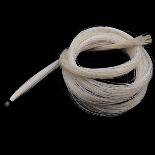SUPVOX Pelo de caballo mongol de 2 madejas para viol/ín