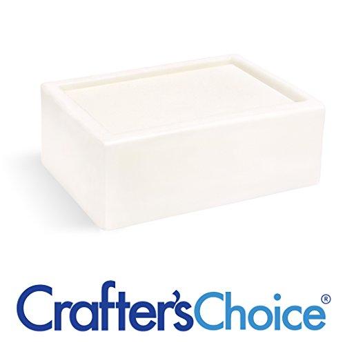Goat Milk Detergent Free Melt & Pour Soap Base - Crafters Choice MP Soap Base