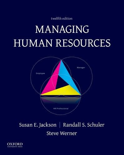 Managing Human Resources by Oxford University Press