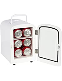 Portable Mini Fridge Cooler and Warmer Auto Car Boat Home Office AC & DC White