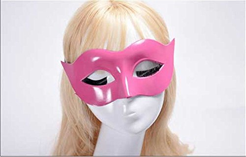 Face mask Shield Veil Guard Screen Domino False Front Men Masks Halloween Costumes Dances Masks Ladies Solid Color Minimalist Half face Zorro Half face mask -