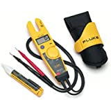 Fluke T5-1000 Voltage Continuity Tester, H5 Carrying Case & 1AC Voltage Indicator Kit by Fluke