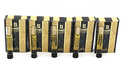 Vintage*FENDI UOMO* By Parfums Fendi 5~Sample Vials Eau De Toilette Splash 1 - Jeans Fendi Men