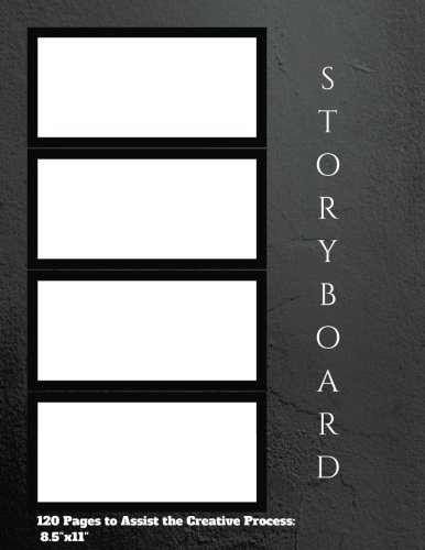 """storyboard 16:9 Notebook 120 Pages to Assist the Creative Process: 8.5""""x11"""": storyboard,storyboarding,storyboard notebook,Cinema Notebook,Composition Notebook (Storyboard v1) (Volume 4) pdf"""