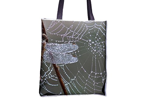 Web allover large bag tote bags tote popular Dragonfly popular tote professional Spider bags Morning bags best Dew professional printed tote bags totes tote best womens' totes large qZZIwE